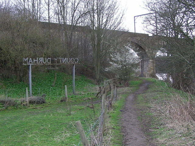 Tees Bridge : Railbridge.