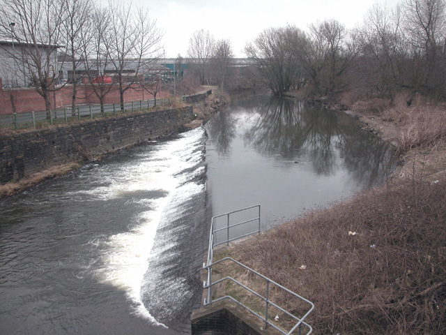 Bury Bridge weir