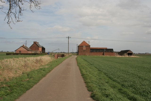 Farm at end of Morton North Drove