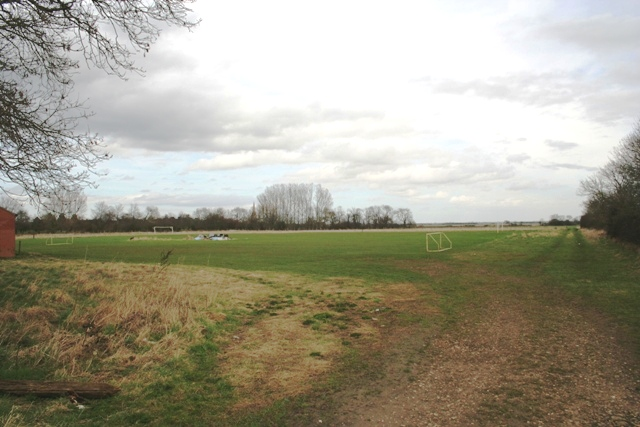 Playing field near Haconby