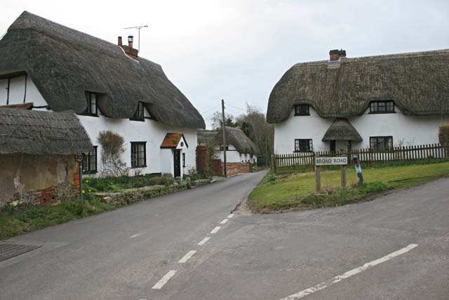 Thatched Cottages, Monxton