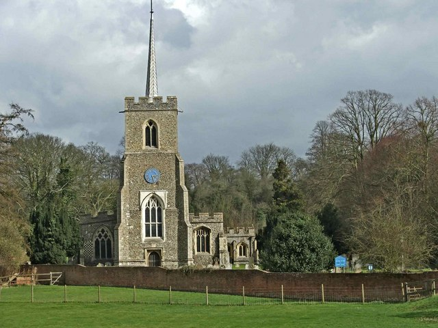 St Andrew's Church, Much Hadham, Hertfordshire