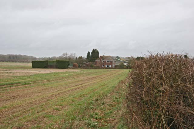 House near Prospect Farm