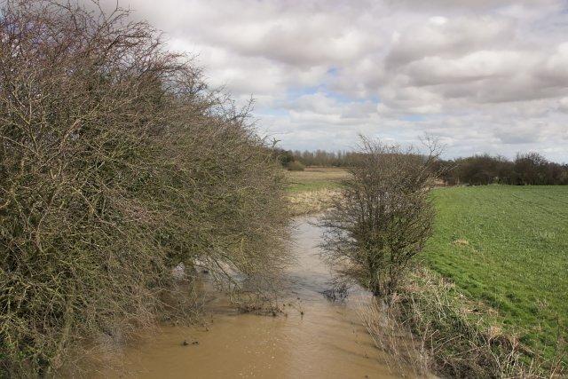 Downstream from East Ness bridge