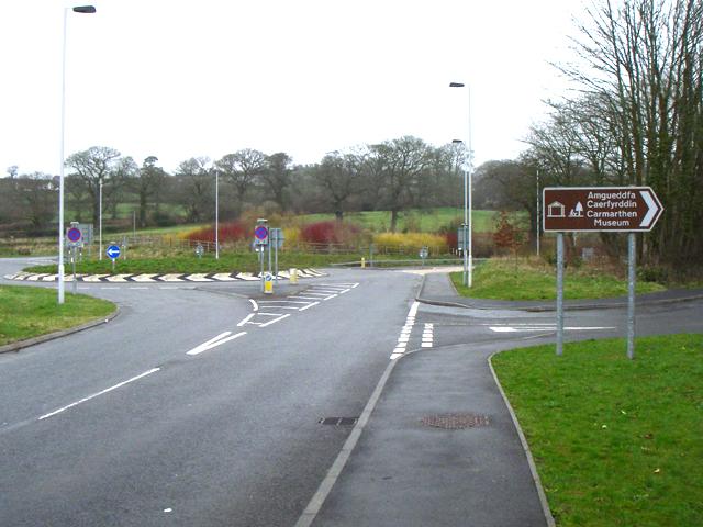 Abergwili roundabout