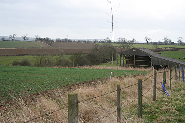 Countryside near Baggrave Hall