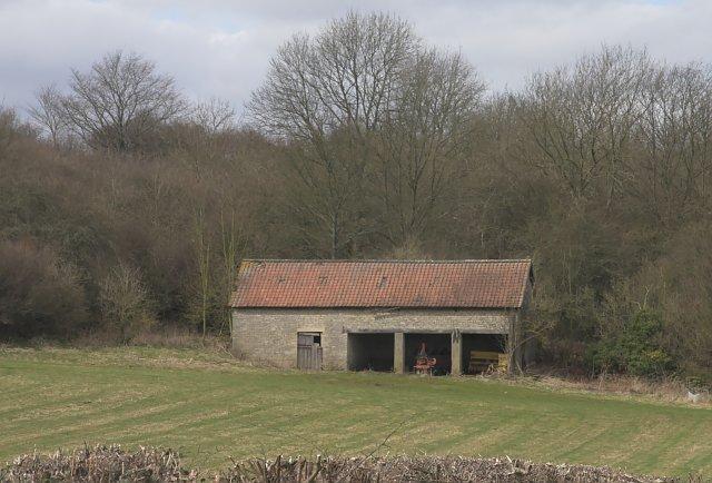 Barn near Halfway House