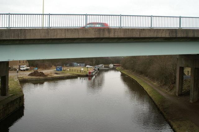 B6228 crossing the L&L Canal