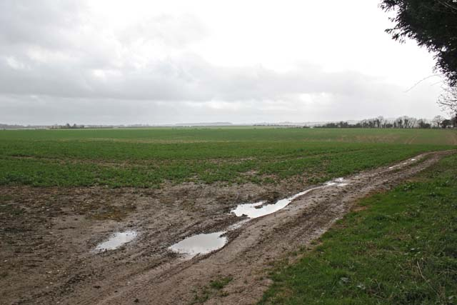 Farmland southeast of Nether Wallop