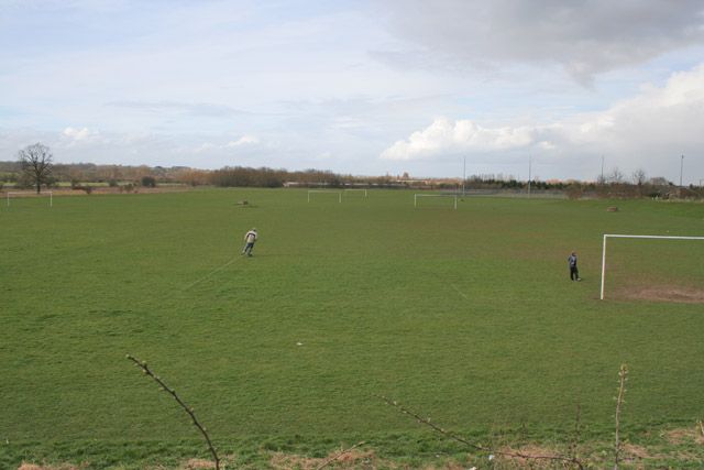 Playing Fields at Syston