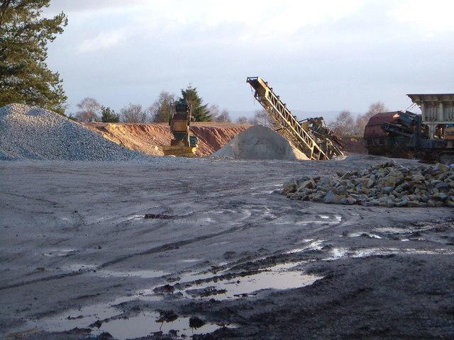 Haldon Quarry