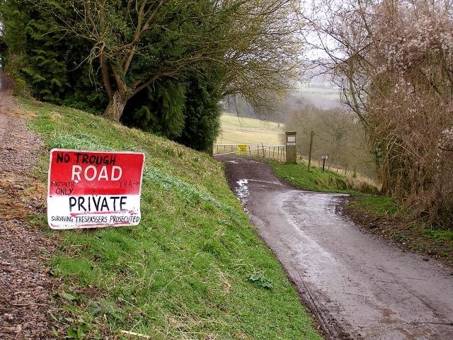 """No """"Trough"""" Road"""