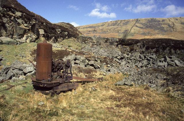 Jumbles Quarry, near Slaidburn