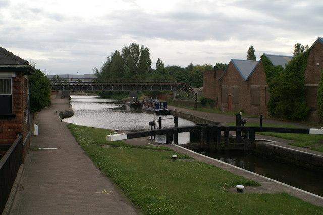 Henshurst Lock,Poolstock, on the Leeds & Liverpool