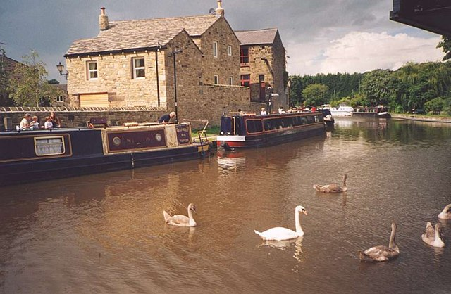 Leeds Liverpool Canal in Skipton