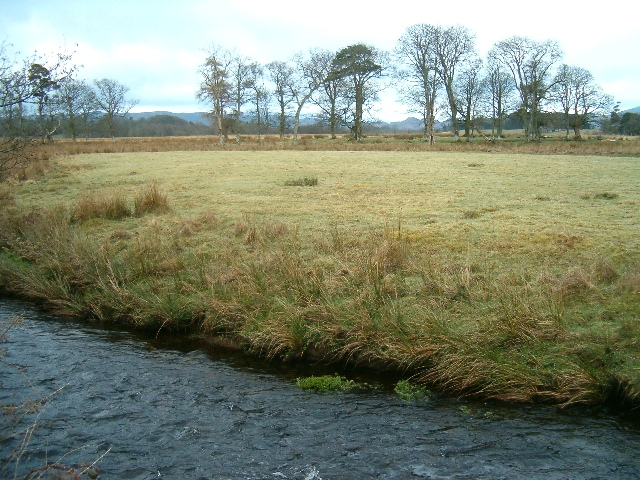 River meadows in Kilmartin Glen