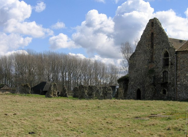 Ruins of Langley Abbey