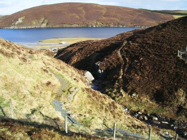Burn of Valayre, Shetland
