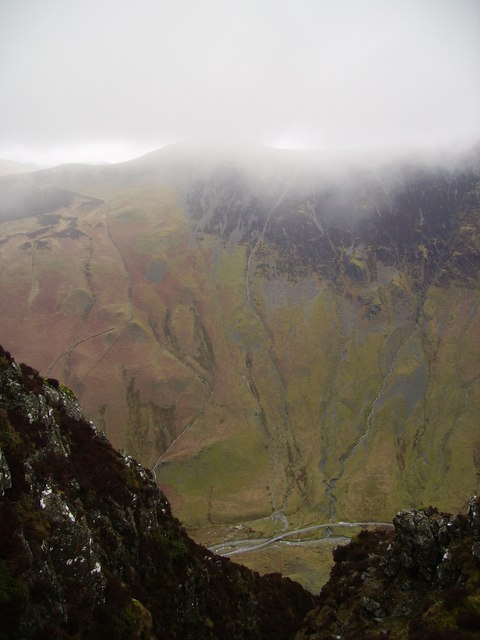 Above Honister Pass