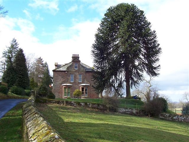 Hawksdale Lodge.