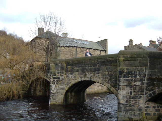 Bridge over Hebden Water, Hebden Bridge