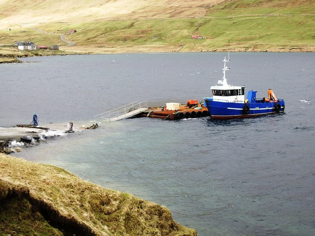 Collafirth Pier, Shetland