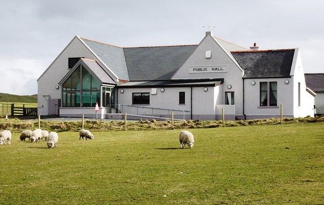 Public Hall at Vidlin, Shetland