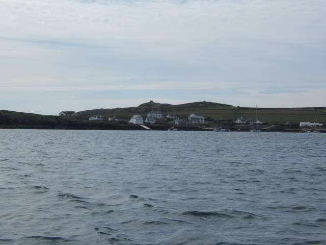 Rhoscolyn from the sea