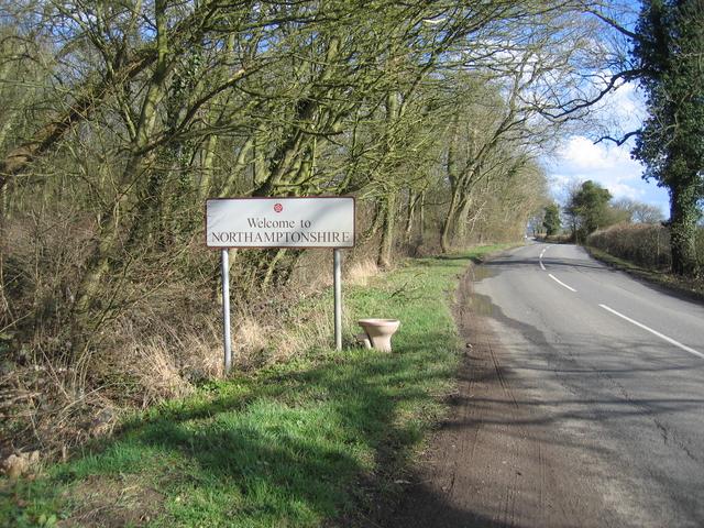 Unusual welcome to Northamptonshire