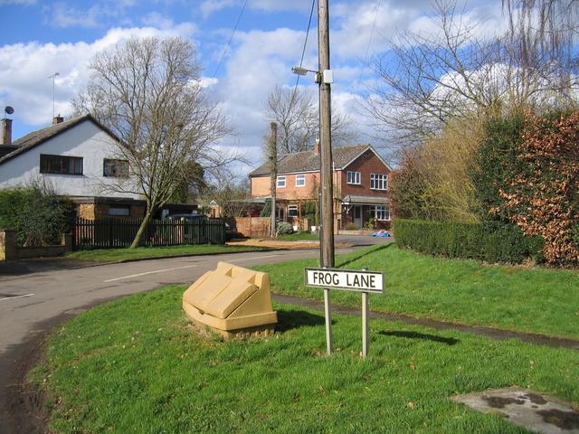 Frog Lane, Upper Boddington