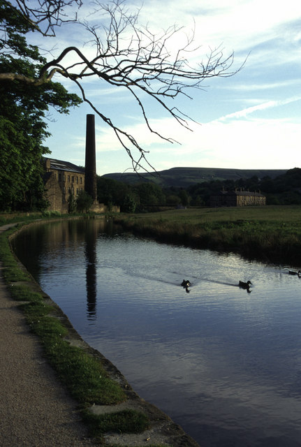 Cellarsclough mill, Marsden