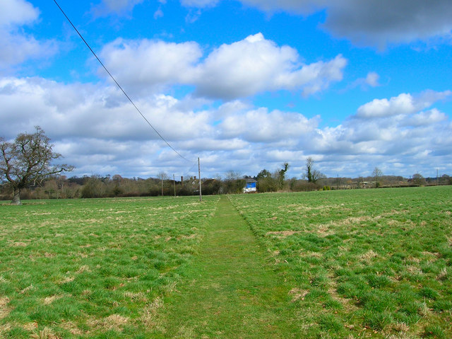 Footpath to Shiprods Farm