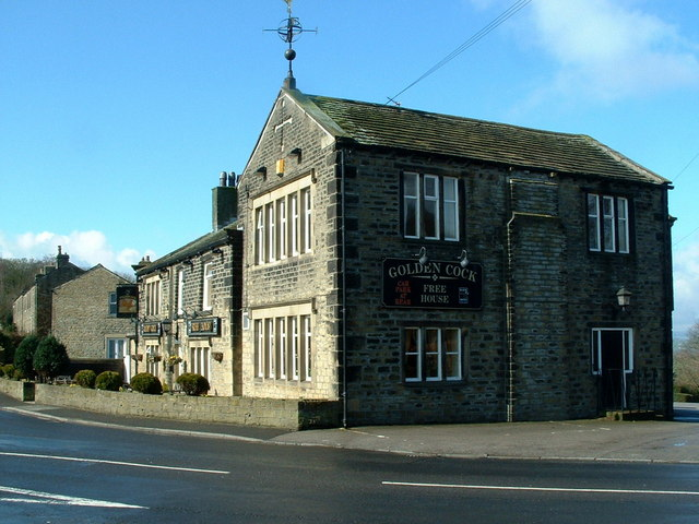 The Golden Cock , Farnley Tyas