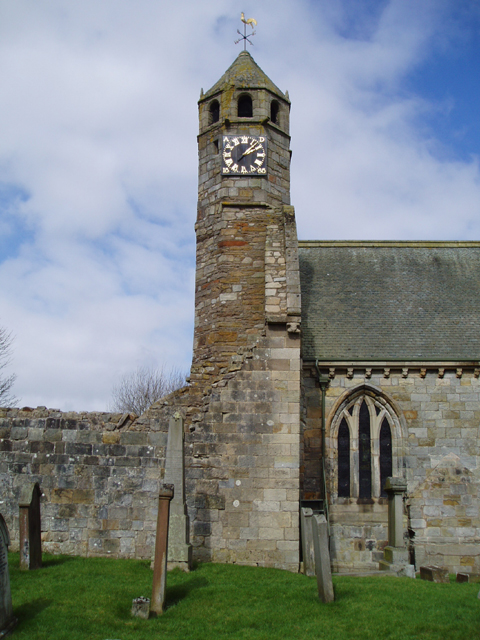 St Brides Church Clock Tower, Douglas
