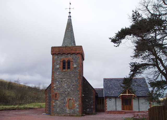 Glencaple Parish Church, Abington
