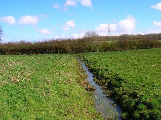 Small Brook near Woodmancote