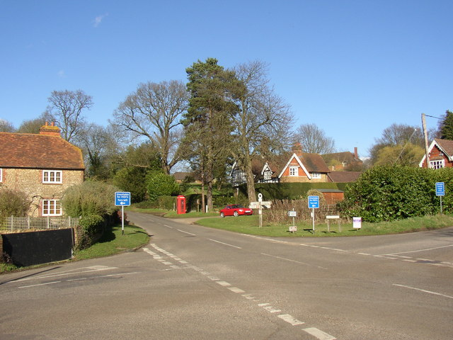 Hydestile crossroads, Hambledon