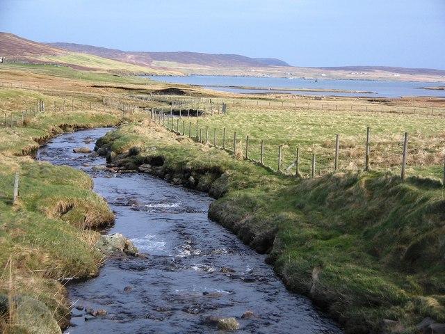 Burn of Grunnafirth, Shetland