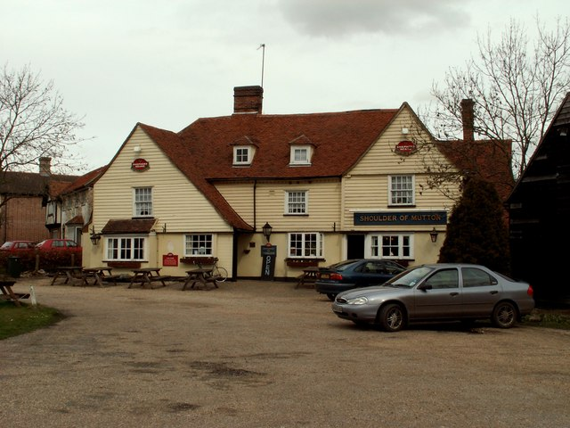 'Shoulder Of Mutton' inn, Fordstreet, Essex