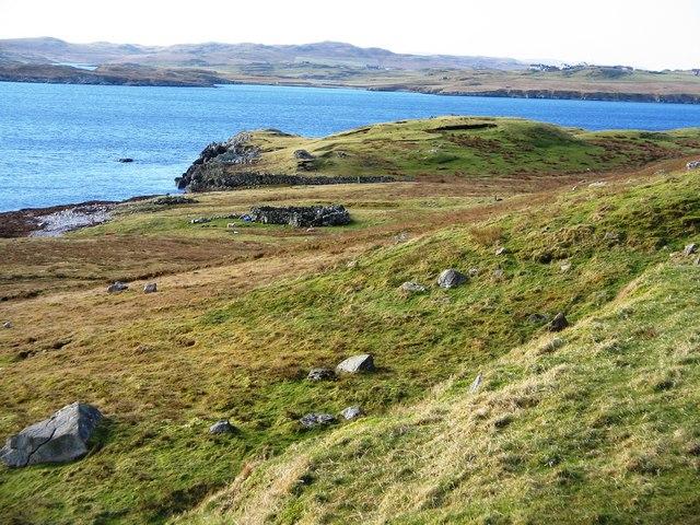 Promontory near Boadie Geo, Shetland