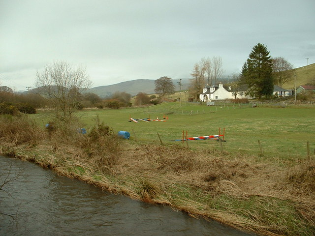 Oakriggside from Barnhill Bridge