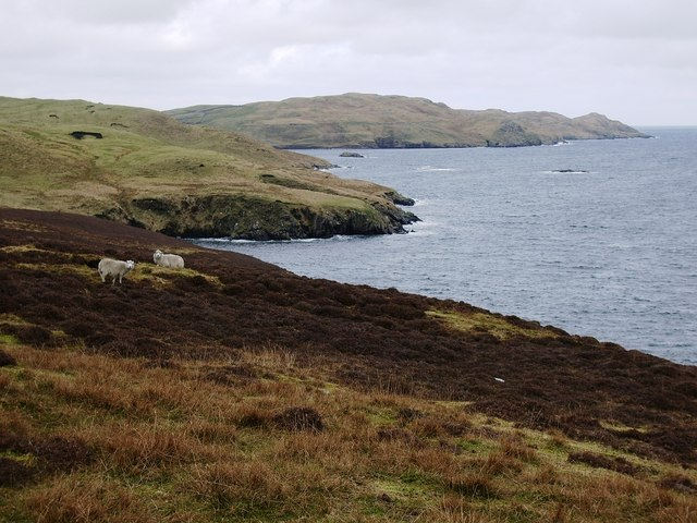 Cove on Vidlin Voe
