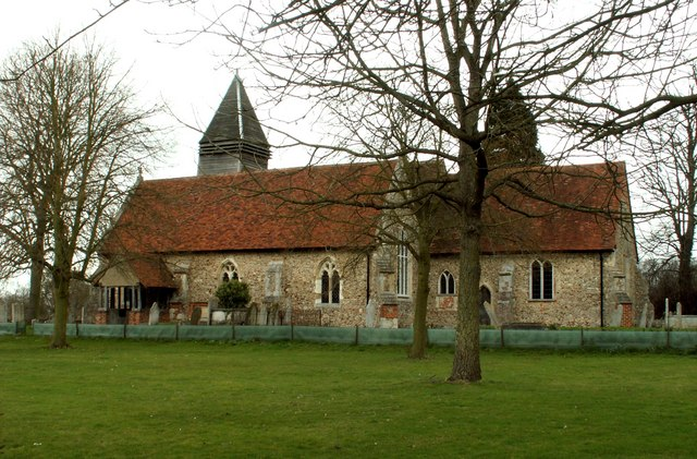 St. Mary's church, West Bergholt, Essex