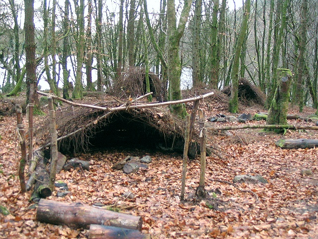 Shelters in Taliaris Forest