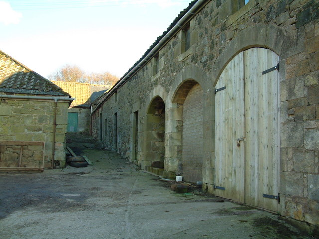 Buildings at Auchendownie
