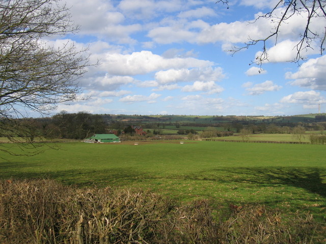 Fields Farm seen from the Welsh Road