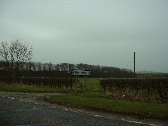 Farmland near Dryfebridge