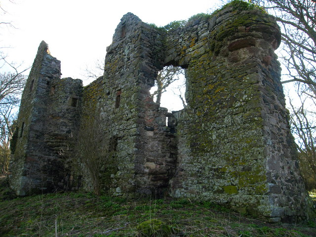 Remains of Auldhame Castle