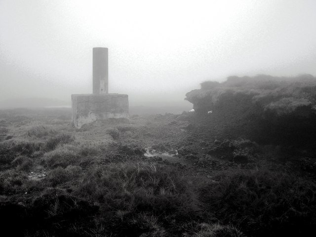 Souther Hill Trig Point, Shetland