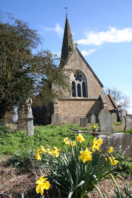 Springtime at All Saints' church
